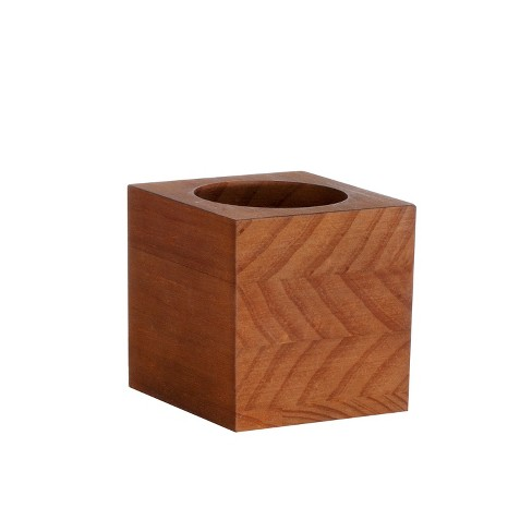 Hand Made Modern Desk Accessory Box - Brown - image 1 of 1