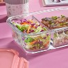 Pyrex Meal Box 3.4 Cup Rectangular Glass Food Storage Container - image 3 of 3
