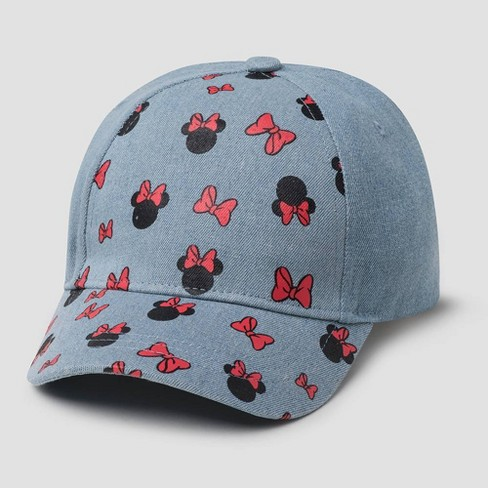 Toddler Boys' Minnie Mouse Baseball Hat - Blue One Size - image 1 of 1