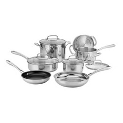 Cuisinart Classic 11pc Stainless Steel Cookware Set