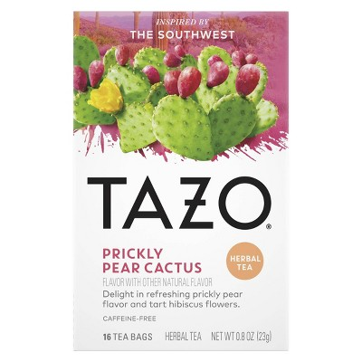 Tazo Foragers Prickly Pear Tea - 16ct
