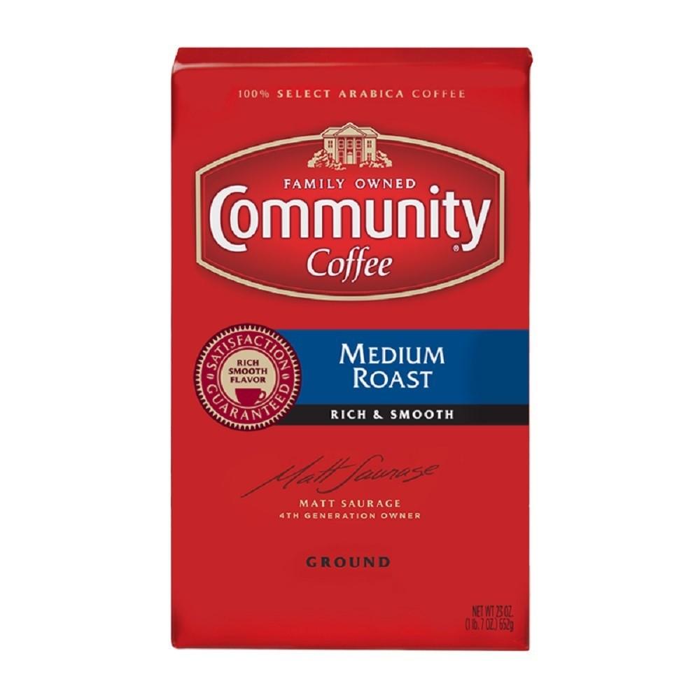 Community Coffee Medium Roast Ground Coffee - 23oz