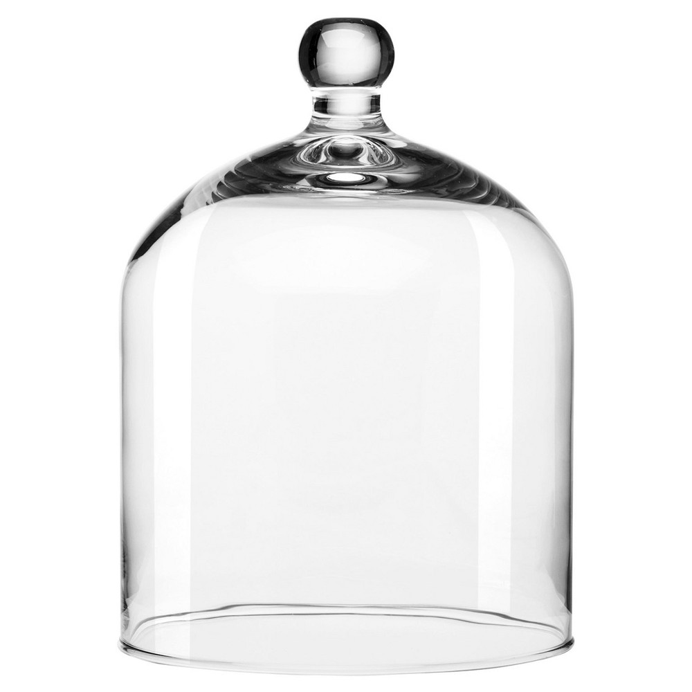 Intent Dome with Knob - 8.9x7.2 - Libbey, Clear