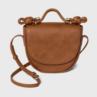 Knotted Saddle Crossbody Bag - Universal Thread™