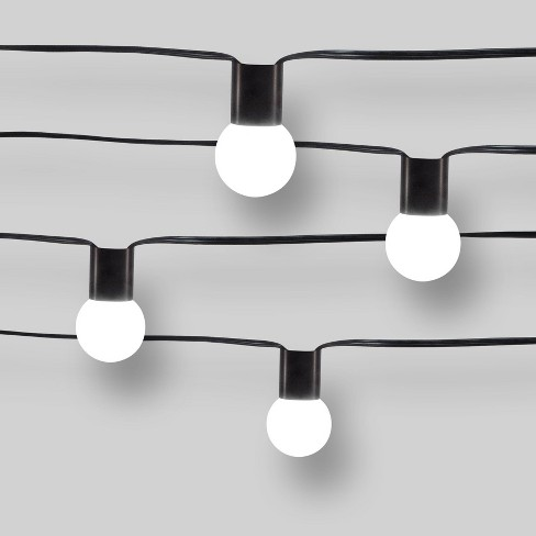 size 40 1d9b8 839e8 10ct Modern String Lights - Frosted G40 String Lights with Collar - Project  62™