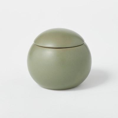 12.5oz Ceramic Sphere Jar Bergamot and Peppercorn Candle - Threshold™ designed with Studio McGee