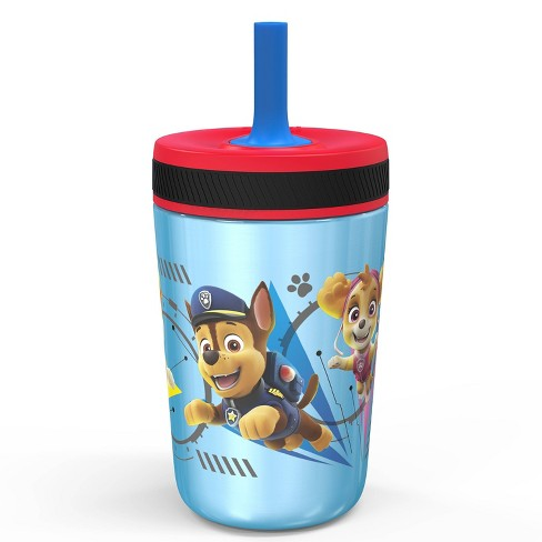 Nickelodeon PAW Patrol 12oz Stainless Steel Spill-Proof Straw Tumbler - Zak Designs - image 1 of 4
