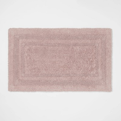 "20""x34"" Performance Cotton Reversible Bath Rug Lilac - Threshold™"