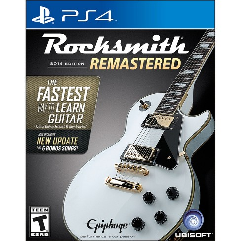 Rocksmith 2014 Edition Remastered PRE-OWNED PlayStation 4 - image 1 of 1