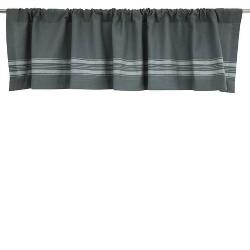 Window Valance - Gray/Cream Stripe - Threshold™
