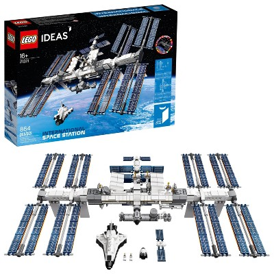 LEGO Ideas International Space Station Building Kit, Adult LEGO Set for Display 21321