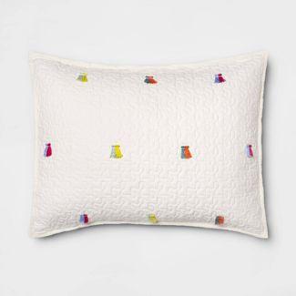 Standard Pillow Sham Cream  - Opalhouse™