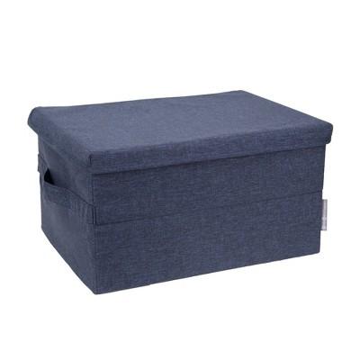 Bigso Box of Sweden Medium Soft Storage Box Navy