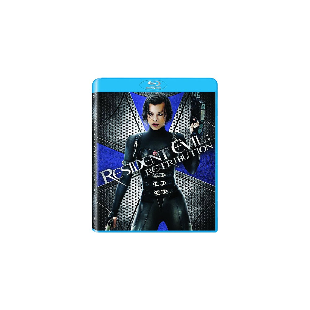 Resident Evil Retribution Blu Ray