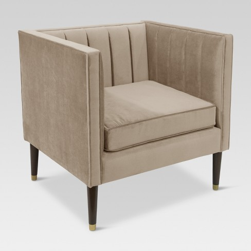 Channel Tufted Arm Chair - Project 62™ - image 1 of 6