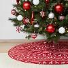 48in Fair Isle Reversible Christmas Tree Skirt - Wondershop™ - image 2 of 3