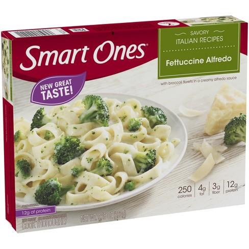 Smart Ones Fettuccini Alfredo - 9.25oz : Target