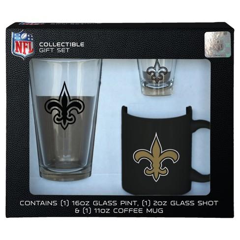049c29247ef NFL New Orleans Saints Glassware Gift Set   Target