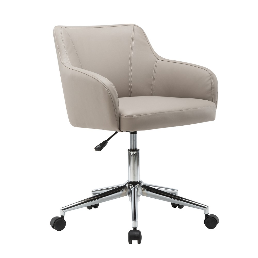 Image of Comfy and Classy Home Office Chair- Beige- Techni Mobili