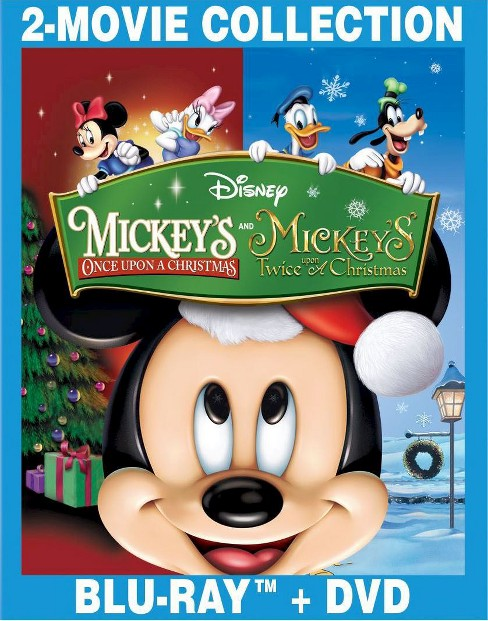 Mickey's Once Upon a Christmas/Mickey's Twice Upon a Christmas (Blu-ray) - image 1 of 1