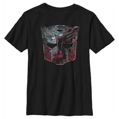 Boy's Transformers Autobot Rusted Logo T-Shirt