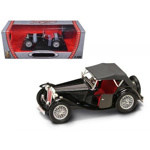 1947 Mg Tc Midget Black 1 18 Cast Model Car By Road Signature Target