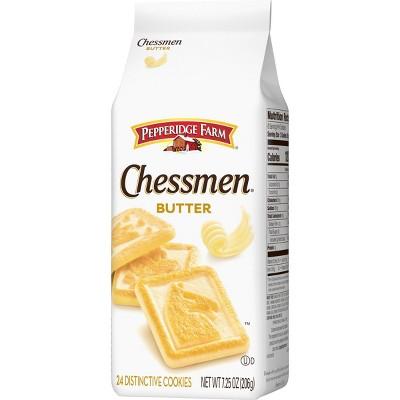 Pepperidge Farm Chessmen Butter Cookies - 7.25oz