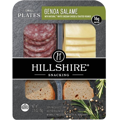Hillshire Genoa Salame Small Plates - 2.76oz