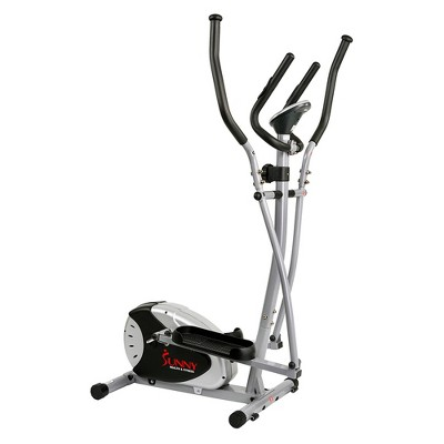 Sunny Health and Fitness Magnetic Elliptical Bike - Black