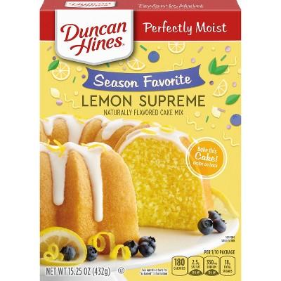 Duncan Hines Lemon Supreme Cake - 15.25oz