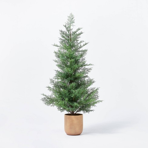 Large Pine Tree in Ceramic Pot - Threshold™ designed with Studio McGee - image 1 of 4