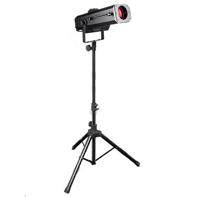 Chauvet DJ High-Quality Professional 120 Watt LED 7 Color Prism Followspot Portable Stage Lighting with Travel Tripod Stand