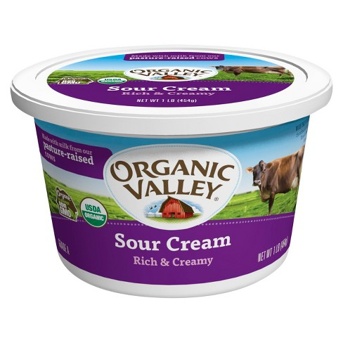 Organic Valley Rich and Creamy Sour Cream - 1lb - image 1 of 1