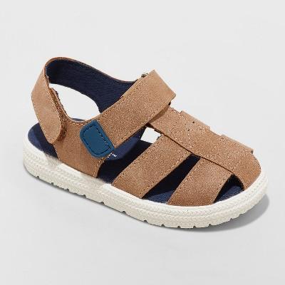 Toddler Boys' Herschel Fisherman Sandals - Cat & Jack™ Brown 8