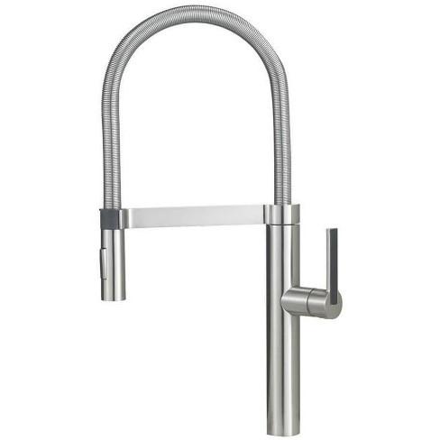 Blanco 441407 Culina Kitchen Faucet Semi Professional - Satin Nickel