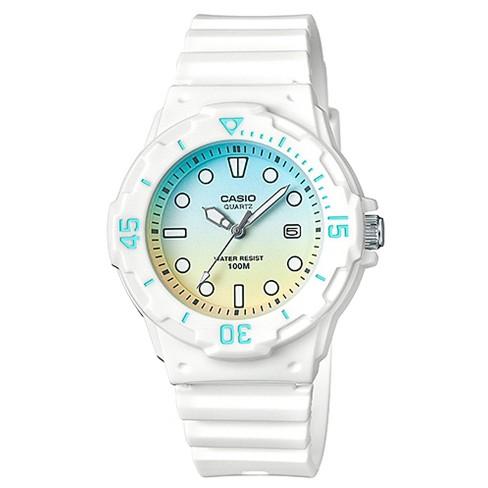Women's Casio Analog Watch - White - image 1 of 1