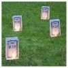 6ct Battery Operated Luminaria LED Kit with Timer - image 2 of 4