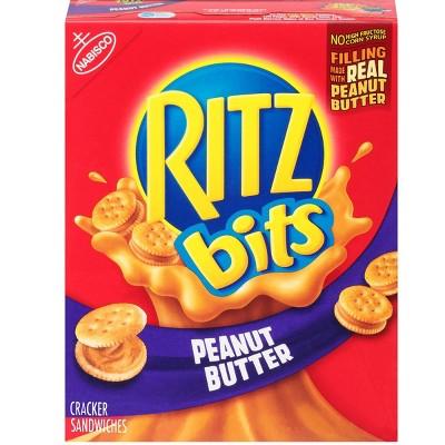Ritz Bits Cracker Sandwiches with Peanut Butter - 8.8oz