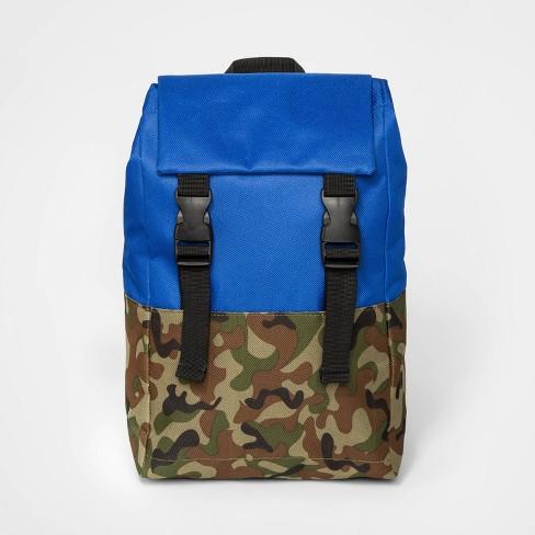 Toddler Boys' Utility Backpack - Cat & Jack™ Blue - image 1 of 3