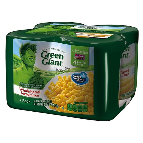 Green Giant Whole Kernel Sweet Corn 15.25 oz. - 4 pk - image 1 of 1