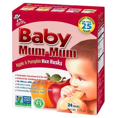 Baby Mum-Mum Apple Pumpkin - 1.76oz