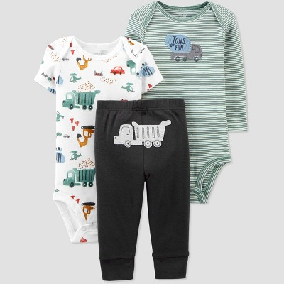 Baby Boys' Construction Top & Bottom Set - Just One You® made by carter's 3M