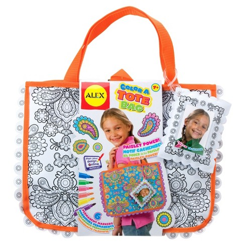 ALEX Toys Craft Color A Tote Bag - image 1 of 4