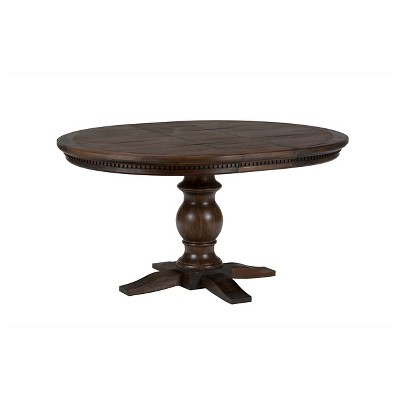 Merveilleux Geneva Hills Round To Oval Dining Table Wood/Rustic Brown   Jofran Inc. :  Target