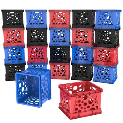 Storex 18pk Micro Storage Crates
