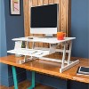 Lorell Large Worksurface Adjustable Desk Riser - image 2 of 3
