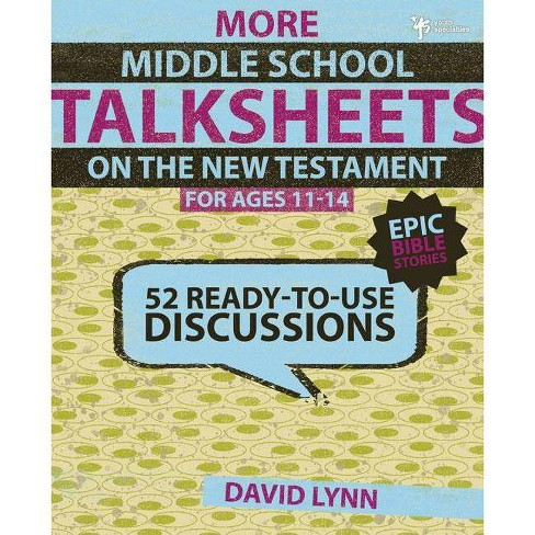 More Middle School Talksheets on the New Testament, Ages 11-14 - by  David Lynn (Paperback) - image 1 of 1