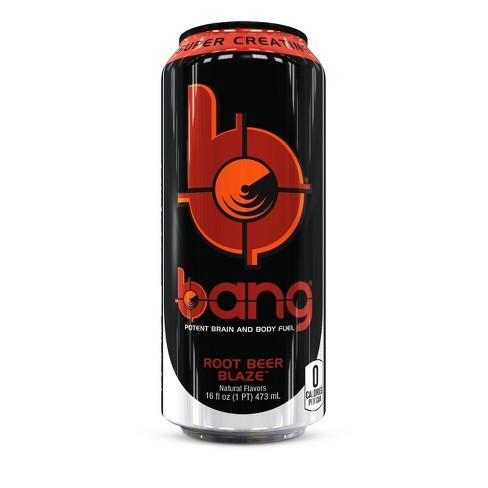 BANG Root Beer Blaze Energy Drink - 16 fl oz Can - image 1 of 1
