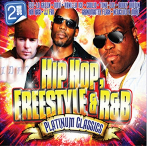 Various - Hip hop freestyle & r&b platinum cla (CD) - image 1 of 1
