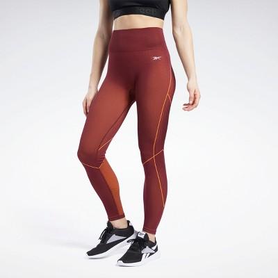 Reebok Meet You There 7/8 Length Leggings Womens Athletic Leggings